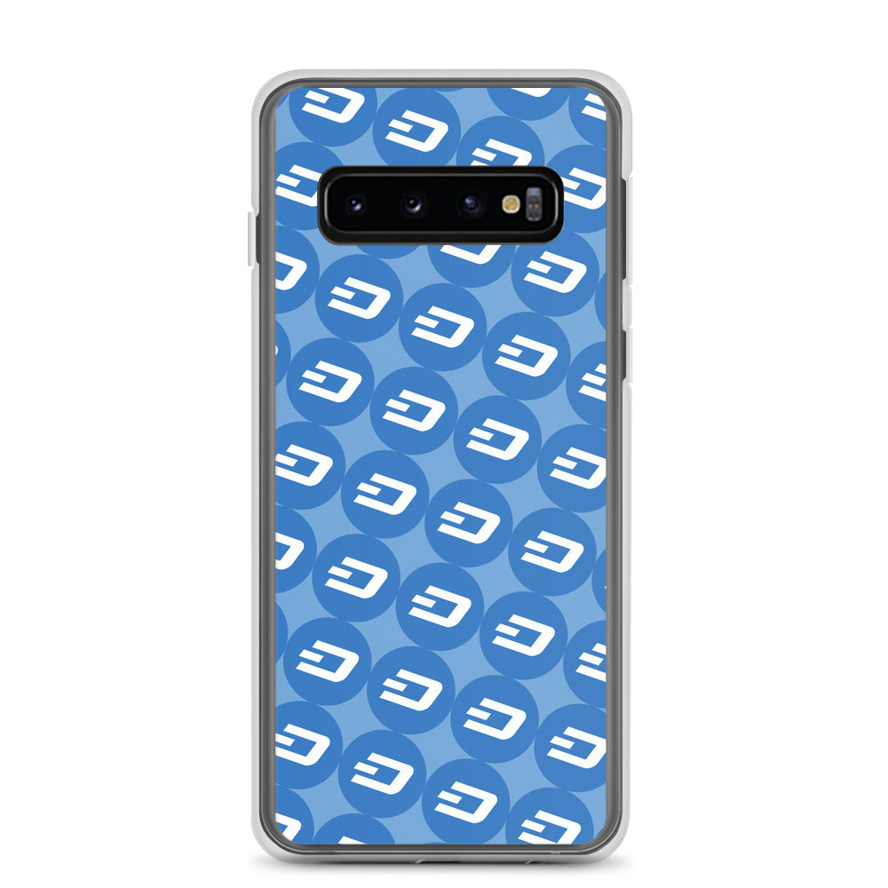 Dash Logo, Samsung Galaxy Case Blue