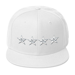 4 Star General Army Style, Snapback Hat