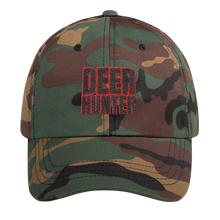 Load image into Gallery viewer, Deer Hunter Text, Dad hat