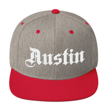 Load image into Gallery viewer, Austin Texas White, Classic Snapback Hat