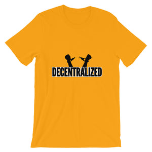 Decentralized Freedom, Short-Sleeve Unisex T-Shirt