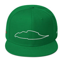 Load image into Gallery viewer, Montreal Canada Circuit Gilles Villeneuve Track Map 3D Puff, Snapback Hat