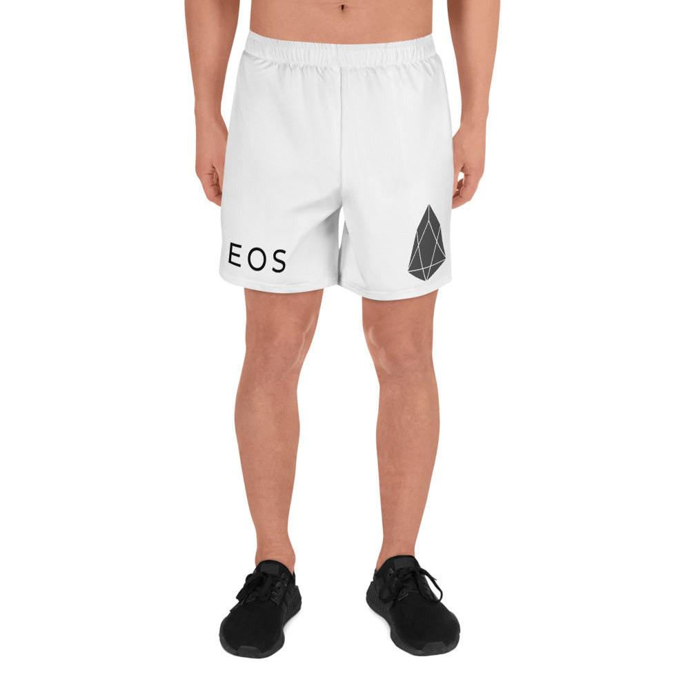 mens eos crypto logo long sleeve shorts