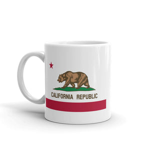 California Republic Flag, Mug