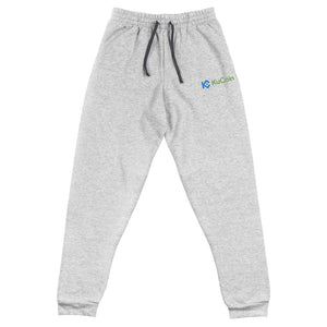 KuCoin Cryptocurrency Exhange Logo, Embroidered Unisex Joggers