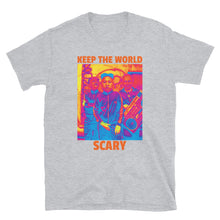 Load image into Gallery viewer, Keep The World Scary Trump Kim Putin Atomic Funny, Short-Sleeve Unisex T-Shirt