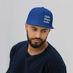 Faith Hope Love Cap