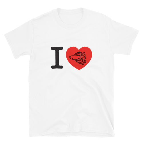 I Love Betta Fish T-Shirt