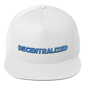 Decentralized Text 3D Puff, Snapback Hat