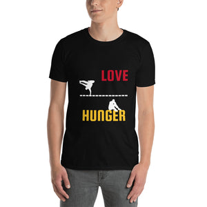 Love and Hunger 2, Short-Sleeve Unisex T-Shirt