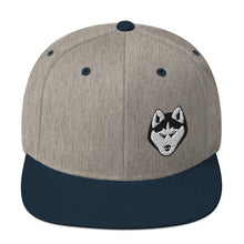 Load image into Gallery viewer, Husky Face, Snapback Hat
