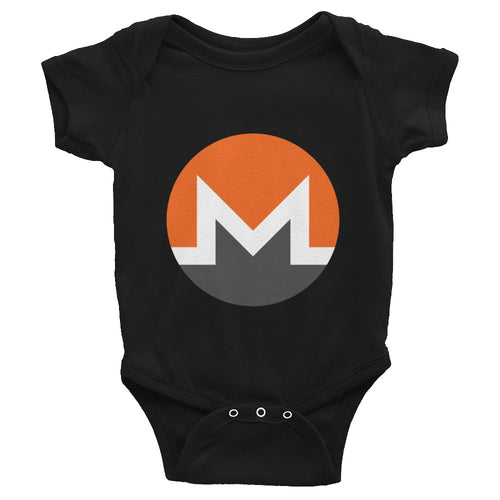 Moreno Cryptocurrency Logo, Infant Baby Rib Bodysuit