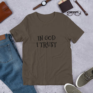 In God I Trust, Short-Sleeve Unisex T-Shirt