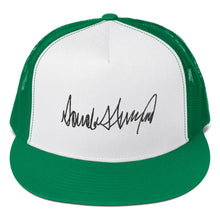 Load image into Gallery viewer, Donald Trump Autograph, Classic Trucker Cap