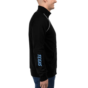 Austin Texas Racing Circuit Of The America Track Map, Men's Piped Fleece Jacket