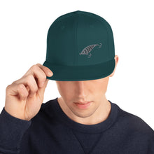 Load image into Gallery viewer, Fishing Lure, Embroidered Snapback Hat