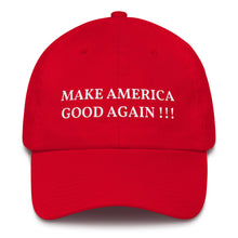 Load image into Gallery viewer, Make America Good Again MAGA Style, Dad Hat
