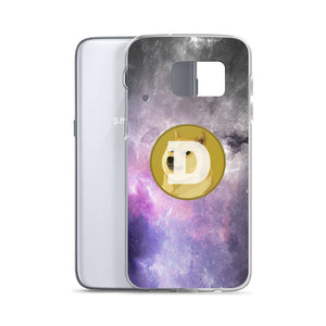 Dogecoin On The Moon, Samsung Galaxy Case