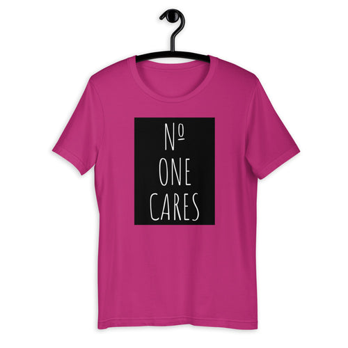 Number One Cares Women's Short-Sleeve T-Shirt