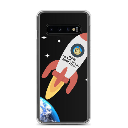 Doge To The Moon Expedition, Samsung Galaxy Case