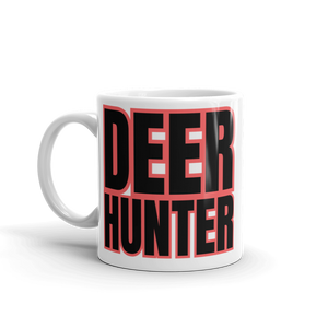 deer hunter coffee mug