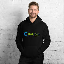 Load image into Gallery viewer, KuCoin Cryptocurrency Exchange Logo, Unisex Hoodie