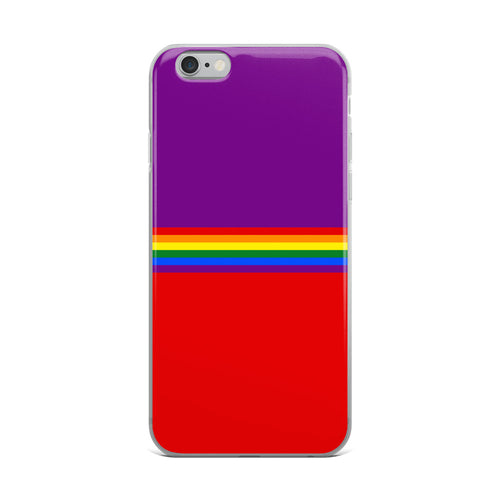 Pride Rainbow Flag Colors 4, iPhone Case