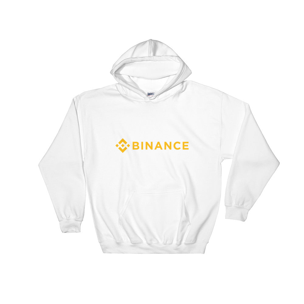 Binance Logo, Unisex Hooded Sweatshirt