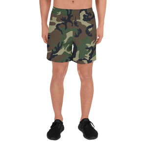 mens camouflage printed shorts