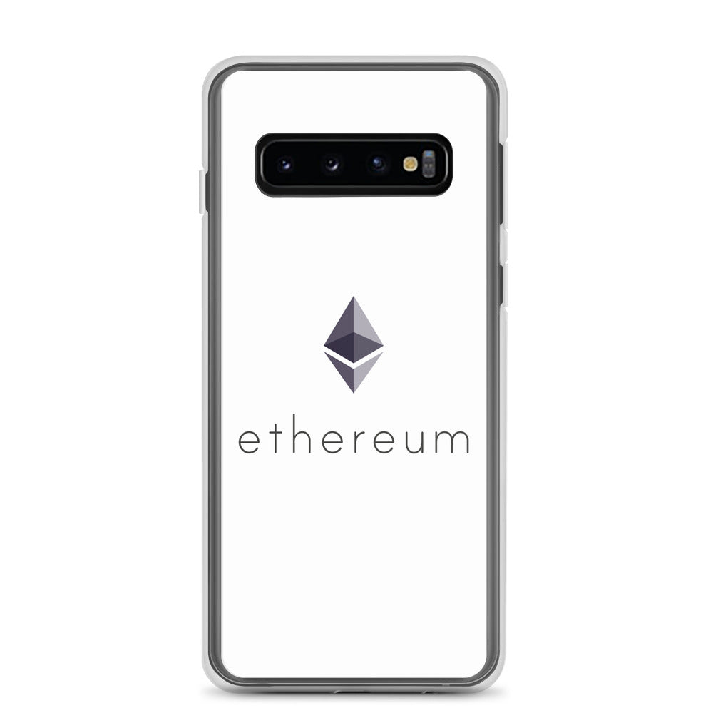 Ethereum ETH Cryptocurrency Logo, Samsung Galaxy Case