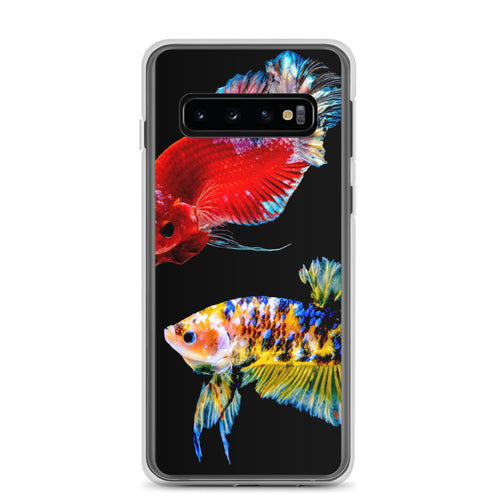 Betta Fish Samsung Galaxy Case Black