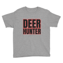 Load image into Gallery viewer, Deer Hunter Text, Youth Short Sleeve T-Shirt