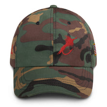 Load image into Gallery viewer, Fly Fishing USA Cap, Embroidered Dad Hat