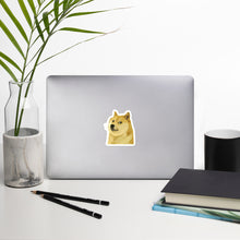 Load image into Gallery viewer, Dogecoin Symbol Shiba Inu, Bubble-free Die Cut Sticker