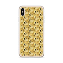Load image into Gallery viewer, Dogecoin Shiba Inu Pattern, iPhone Case