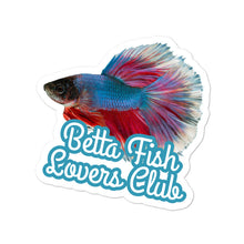 Load image into Gallery viewer, Betta Splendens Fighting Fish 2, Bubble Free Sticker