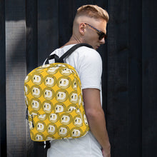Load image into Gallery viewer, Dogecoin Logo Pattern, Backpack Yellow