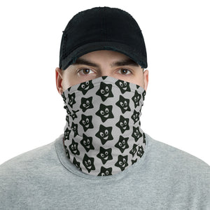 Happy Star Pattern Neck Gaiter Face Mask