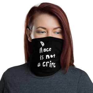 Race is Not a Grime, Neck Gaiter Face Mask Motorcycle Tube