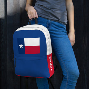 Texas Lone Star Flag, Backpack Multicolor
