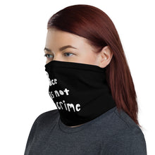 Load image into Gallery viewer, Race is Not a Grime, Neck Gaiter Face Mask Motorcycle Tube