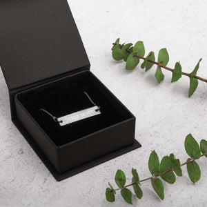 necklace and black gift box
