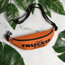 Load image into Gallery viewer, Trucker and Proud, Fanny Pack Orange