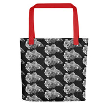 Load image into Gallery viewer, Betta Splendens Fighting Fish Pattern, Tote Bag Black