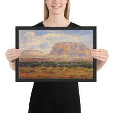 Load image into Gallery viewer, Poster of The Enchanted Mesa Watercolor Painting