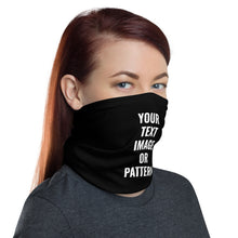 Load image into Gallery viewer, Design Your Own, Neck Gaiter Face Mask Motorcycle Tube