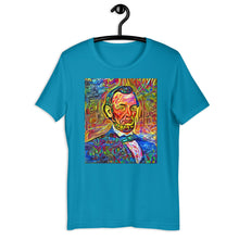 Load image into Gallery viewer, Abraham Lincoln Portrait Art, Short-Sleeve Unisex T-Shirt
