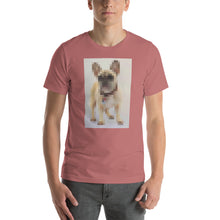 Load image into Gallery viewer, Digi Doge Frenchie, Short-Sleeve Unisex T-Shirt
