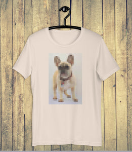 Digi Doge Frenchie T-shirt on Hanger