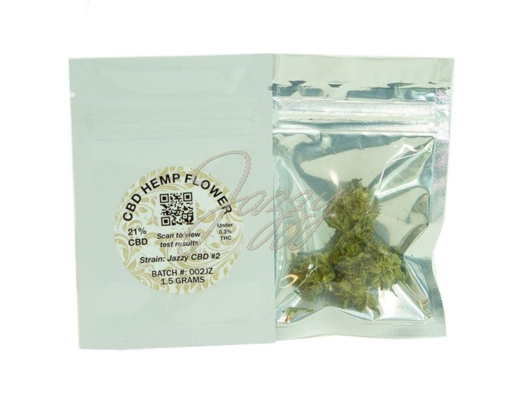 Jazzy Cbd #2 Hemp Flower (1.5 Grams) Flower